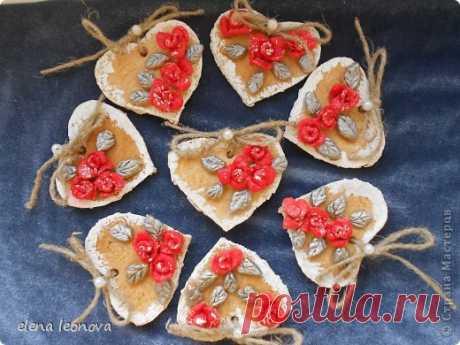 Сердечки-магнитики на День Влюбленных | Страна Мастеров