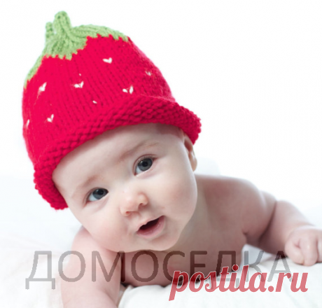 Knitting of a children's hat, master class | STAY-AT-HOME
