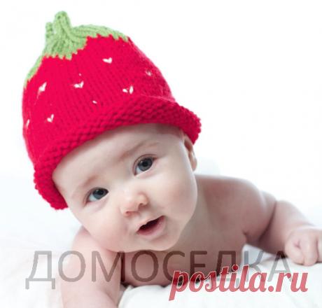 Вязание детской шапочки, мастер класс | ДОМОСЕДКА