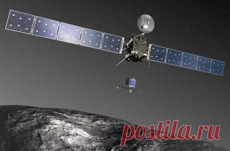 Зонд «Розетта» завершил свою 12-летнюю миссию, разбившись о комету Чурюмова — Герасименко