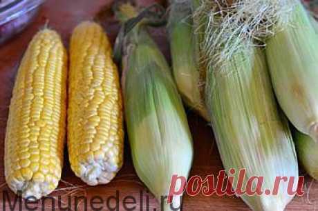 Как заморозить кукурузу — MEGOCOOKER