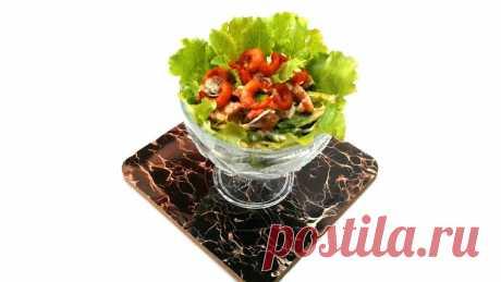Салат 2020 с карамельными Креветками без Майонеза | Грузинская Кухня от Софии | Яндекс Дзен