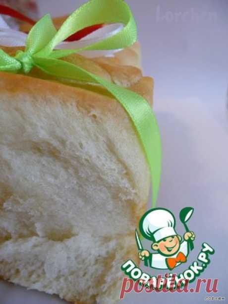 """Итальянский молочный хлеб """"Гармошка"""" - кулинарный рецепт"""