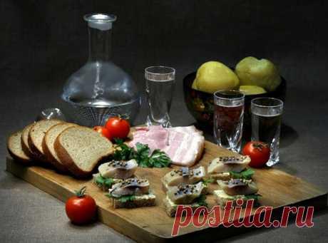 Какие закуски несовместимы с алкоголем, трезвые советы