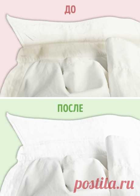 10трюков, которые вернут белизну вашей одежде