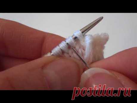 [Вязание] Эластичное закрытие края вязаного изделия. Мастер-класс