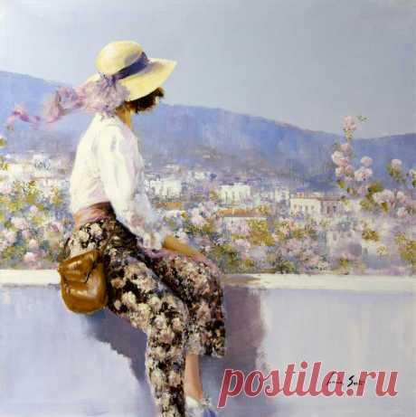 Творчество современной художницы из Италии Люсия Сарто