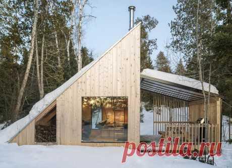Загородный дом для отдыха в Канаде . Тут забавно !!!