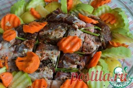 Баранина с овощами – кулинарный рецепт