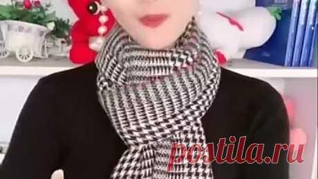 Множество способов завязать шарф и платок