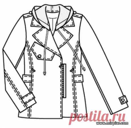 (+2) Anorak (la costura, el patrón)