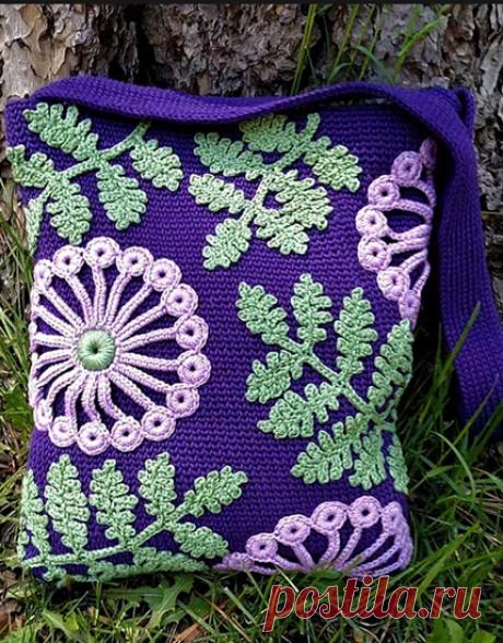 Классная идея для сумок и других аксессуаров | Вязание в радость | Яндекс Дзен