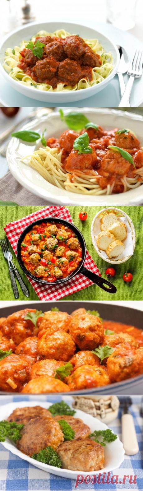 Тефтели с рисом в томатном соусе – ТОП 5 рецептов с фото