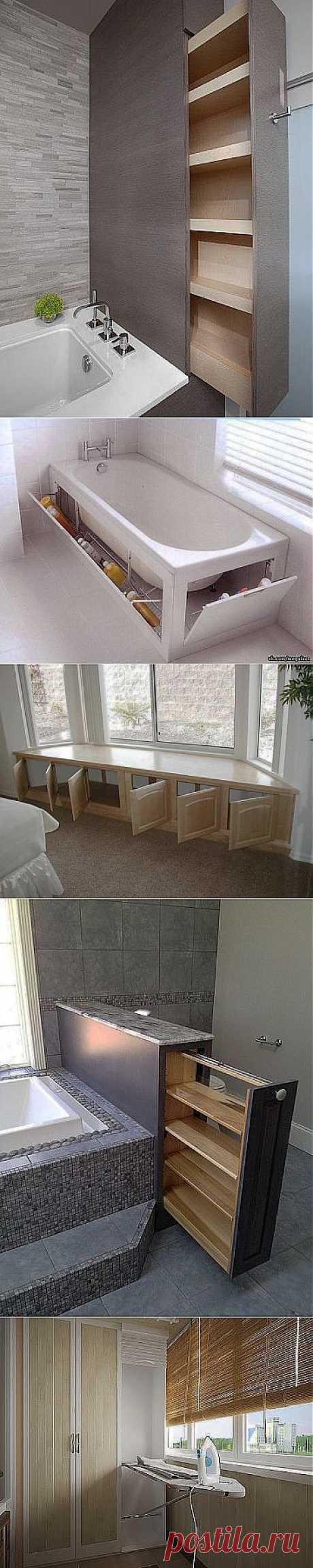 Useful area. (ideas for the house).