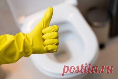 Как отмыть ржавчину в унитазе
