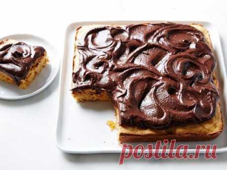 Диетический торт с сухофруктами и шоколадной глазурью без сахара