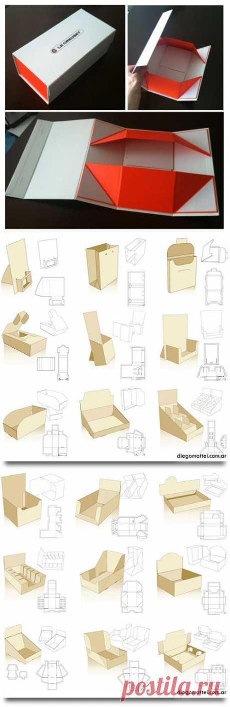 Удобные упаковочки для своей продукции..