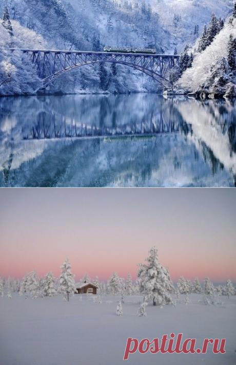 20 places where the winter is fantastically fine