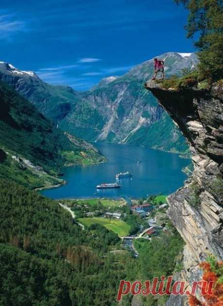 Гейрангер-фьорд - один из самых живописных и наиболее посещаемых норвежских фьордов - Путешествуем вместе