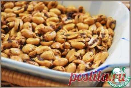 Арахис со специями и чесноком – кулинарный рецепт