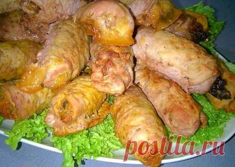 Мясные рулетики на новый год, горячее блюдо три вида рулетов Автор рецепта Домашняя Вкусняшка - Cookpad