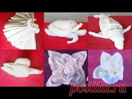 HOW TO MAKE TOWEL ANIMALS/TOWEL ART TUTORIAL - FOR BEGINNERS!