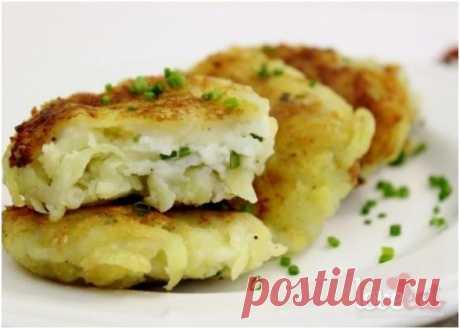 Рецепт картофельных пампушек