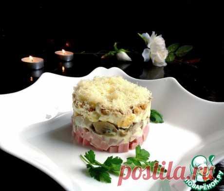 """Салат """"Нежный"""" – кулинарный рецепт"""