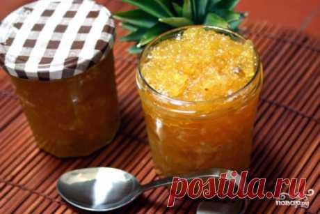 Варенье из ананаса - рецепт с фото