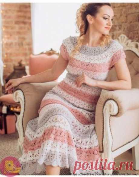 Шедевральное платье узором лилии — Сделай сам, идеи для творчества - DIY Ideas