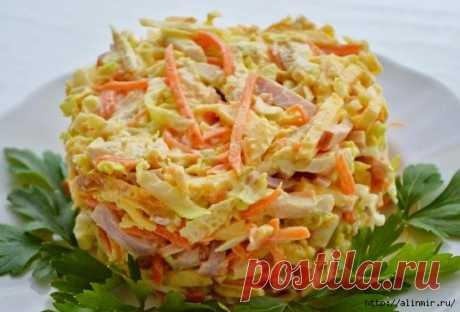 Вкусные салаты быстрого приготовления «Вкуснятина на скорую руку»