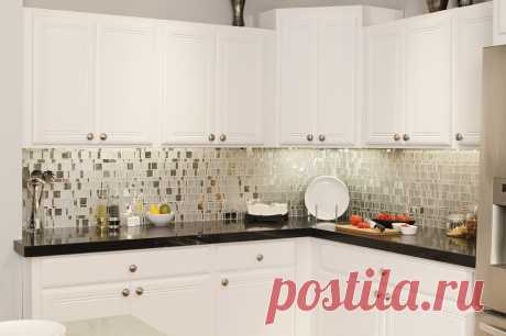 Зеркальная и металлическая плитка для кухонь и ванных - Дизайн интерьеров | Идеи вашего дома | Lodgers