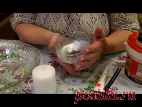 Проверяем на прочность декор морозного подсвечника