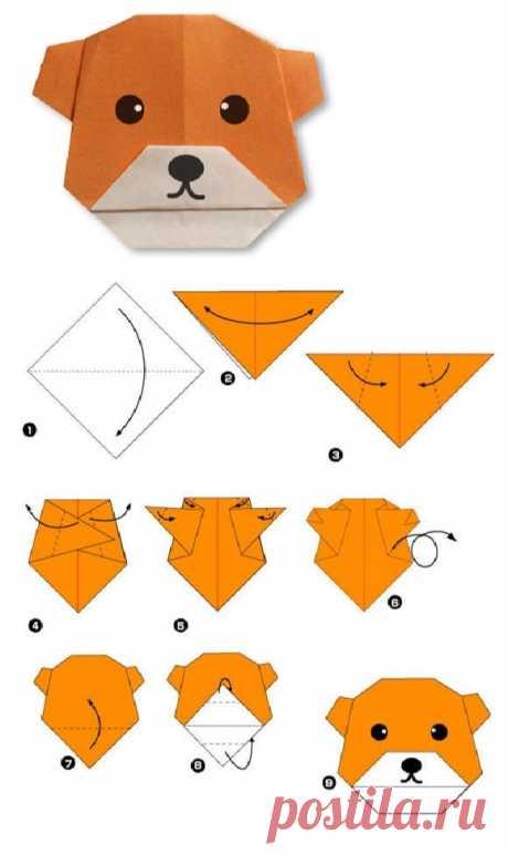 Оригами с малышами - Поделки с детьми | Деткиподелки
