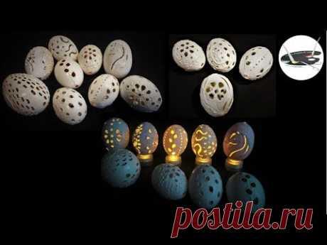 Jak robić ażurowe pisanki z wydmuszek kurzych jaj - Pomysły plastyczne dla każdego