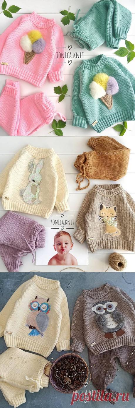 ВЯЗАНИЕ для ДЕТЕЙ и ВЗРОСЛЫХ (@tonica.knit) • Фото и видео в Instagram