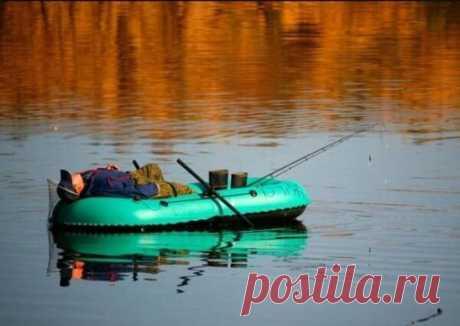 В основном на рыбалку ездят не за рыбой, а за душевным покоем!