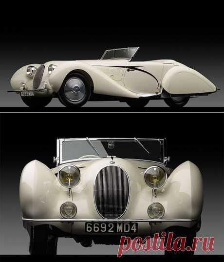 Стильный кабриолет Talbot Lago T150C 1936 года выпуска | Newpix.ru - позитивный интернет-журнал