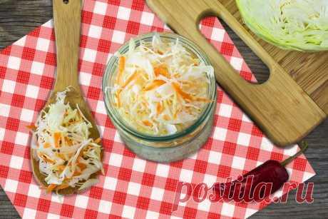 Вкусная маринованная капуста провансаль - заготовка на зиму Не забудь заготовить капусту на зиму! Очень вкусно!