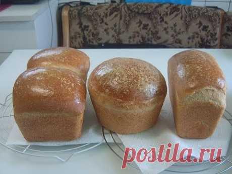 Белый хлеб на закваске , на сыворотке