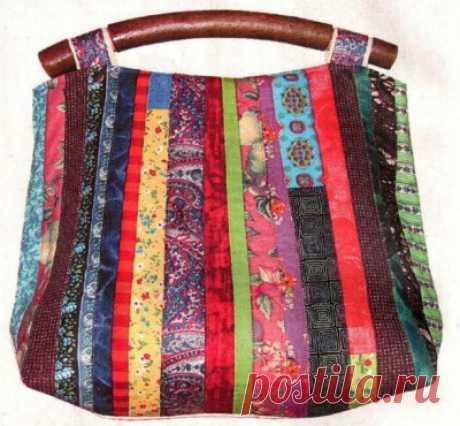 Пэчворк – лоскутное шитье своими руками. Как сделать модную сумку|Рукоделие и хобби. Видео, фото: как сделать, сшить, связать своими руками