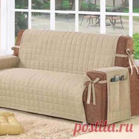 Одеваем любимый диван. Идеи и шаблоны чехлов