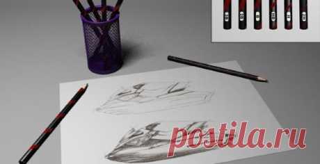 Как рисовать красиво и легко простым карандашом. Мастер класс пошагово для начинающих