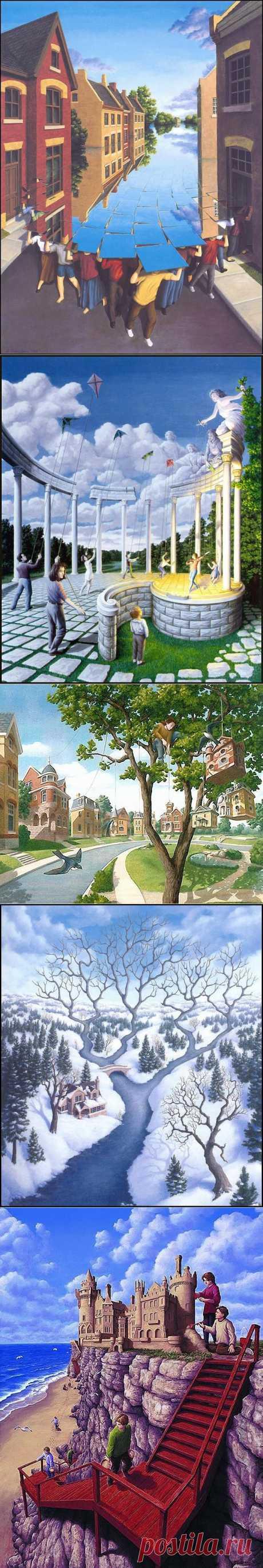 Магический реализм Роба Гонсалеса - Ярмарка Мастеров - ручная работа, handmade
