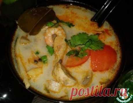 """Настоящий тайский суп """"Том Ям"""" – кулинарный рецепт"""