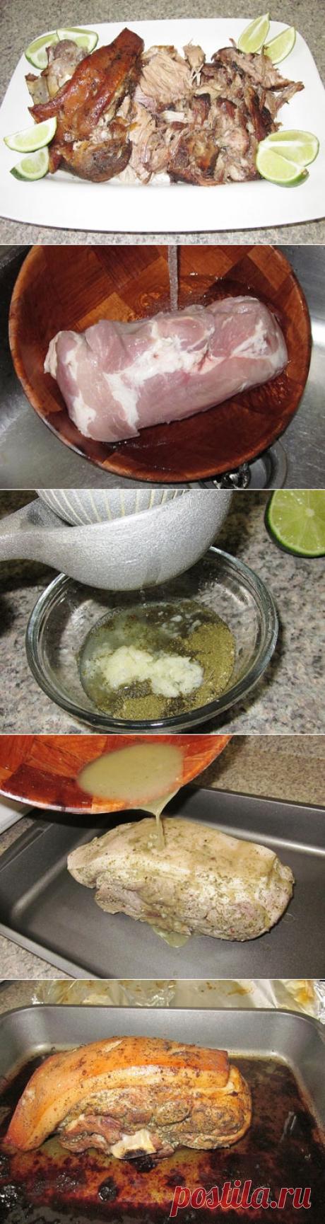 Свиной окорок в маринаде / Блюда из свинины / TVCook: пошаговые рецепты с фото