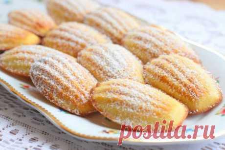 Печенье Мадлен от Юлии Высоцкой