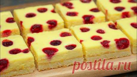 Вкуснее не бывает! Оригинальное пирожное к чаю из самых простых и доступных продуктов Вкусно и красиво!