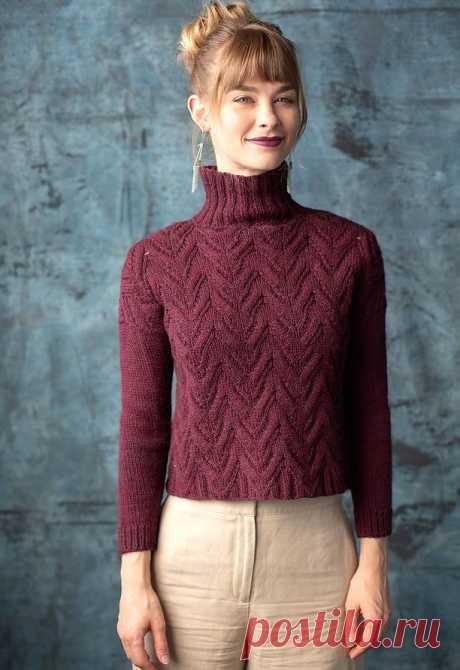 Укороченный свитер Lumi - Вяжи.ру