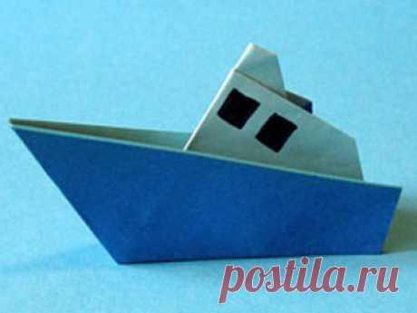 Как сделать кораблик оригами. Из бумаги своими руками для детей.   ИЗ БУМАГИ СВОИМИ РУКАМИ